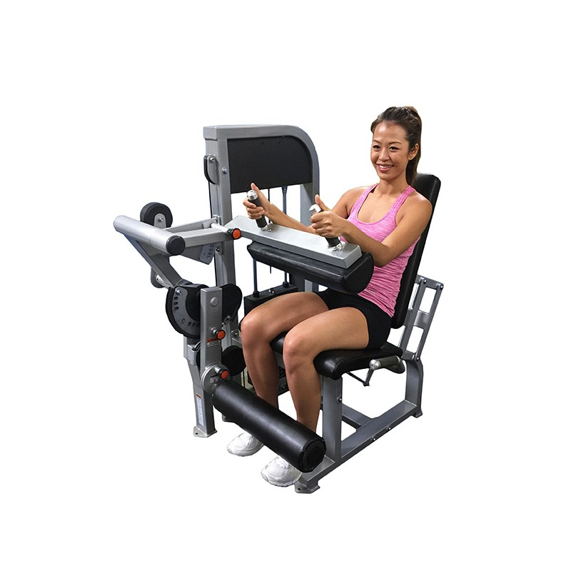 Muscle D Leg Extension Seated Leg Curl Combo Machine Mdd