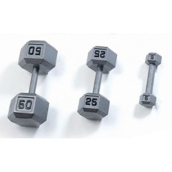 Gympak Iron Hex Dumbbells