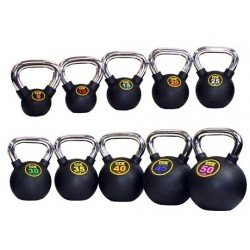 Troy Barbell Rubber Kettlebell
