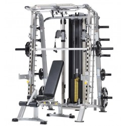 TuffStuff CDM-725WS Smith Machine & CMB-375 Bench