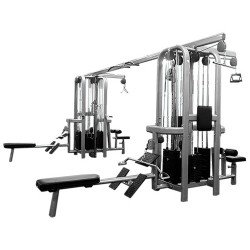 Muscle D Deluxe 8 Stack Jungle Gym Version A (MDM-8SA)