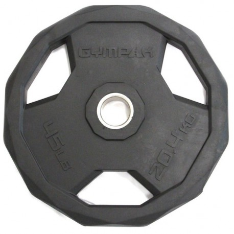Gympak 295PG Rubber Olympic Grip Plates