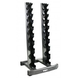 TKO 10 Pair Vertical Dumbbell Rack - 840VDR10