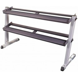 Body-Solid GDR60 Pro Dumbbell 2 Tier Rack