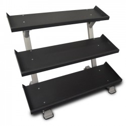 "Inflight Fitness 5009 54"" 3-Tier Dumbbell Rack"