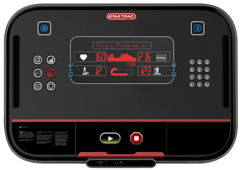 LCD Quick Keys Console