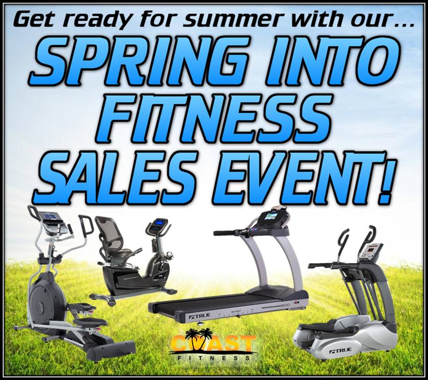 Spring Fitness Sale! SAVE BIG ALL CARDIO & HOME GYMS!