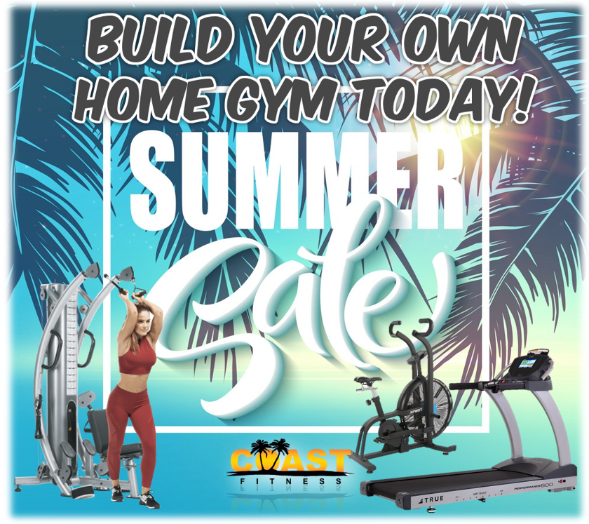 BUILD YOUR OWN HOME GYM SUMMER SALE ON NOW!