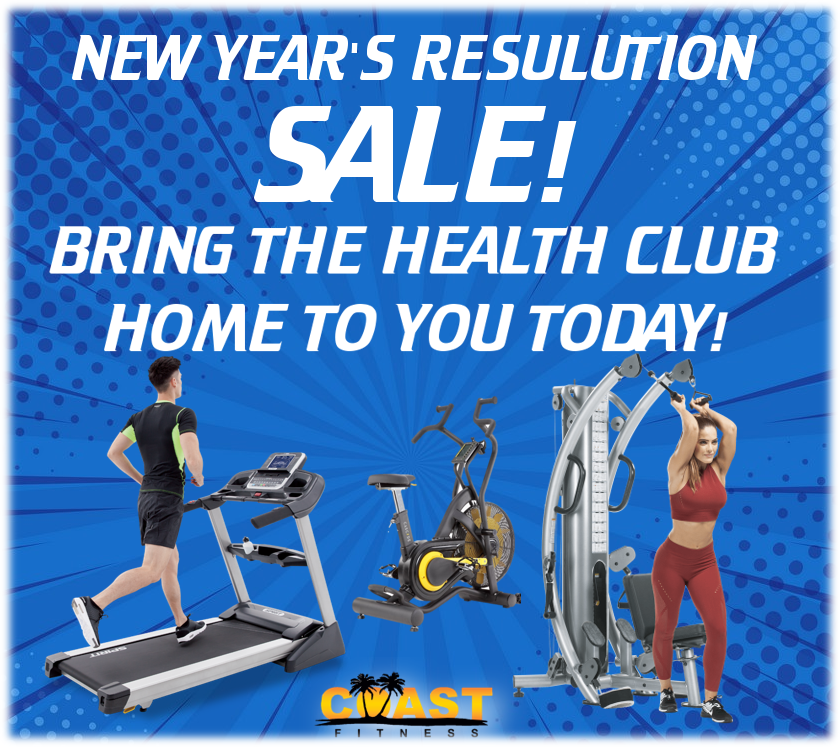 NEW YEAR'S SALES EVENT! BUILD YOUR OWN HOME GYM TODAY!
