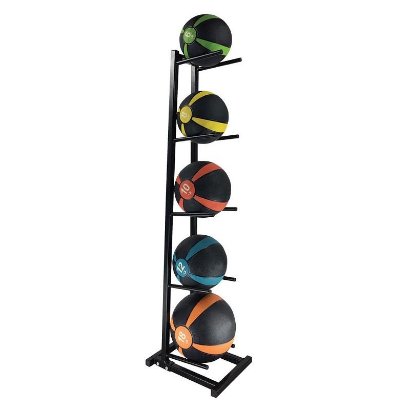 Body Sport Medicine Ball Rack (Holds 5 Balls) - Coast Fitness
