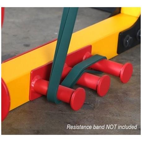 Powertec Power Rack Resistance Band Pegs Attachment (WB-PR16-RBP)