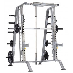 TuffStuff CSM-600 Basic Smith Machine / Half Cage Combo