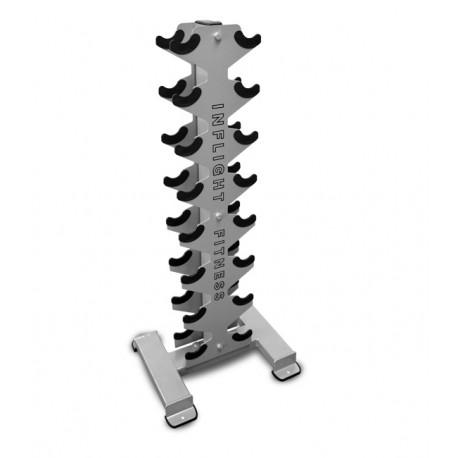 Inflight Fitness 8 Pair Vertical Dumbbell Rack