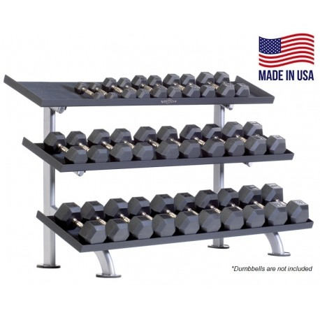 TuffStuff PPF-754T 3-Tier Tray Dumbbell Rack